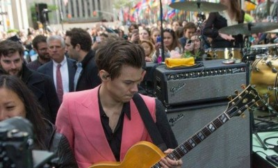 Foto: Harry Styles - Facebook Oficial do Today Show