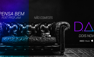 Foto: Novos singles de DAMA - Facebook Oficial