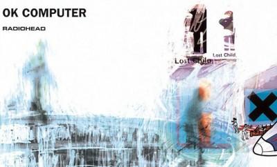 "Capa do LP ""Ok Computer"" - Radiohead"