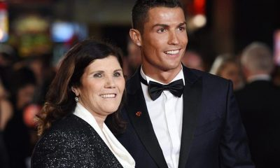 Cristiano Ronaldo com a mãe Dolores Aveiro