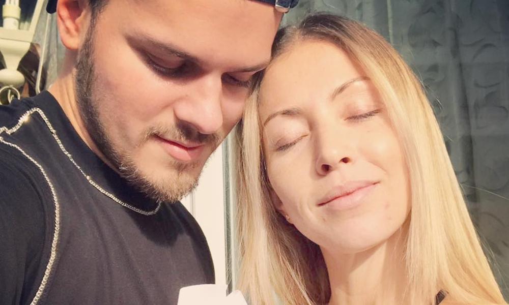 Mickael Carreira e Laura Figueiredo