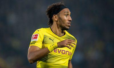 Aubameyang, jogador do Borussia Dortmund e da seleção do Gabão