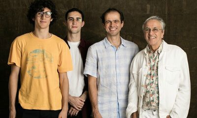 Caetano, Moreno, Zeca e Tom Veloso