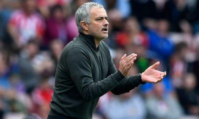 Treinador do Manchester United, José Mourinho.