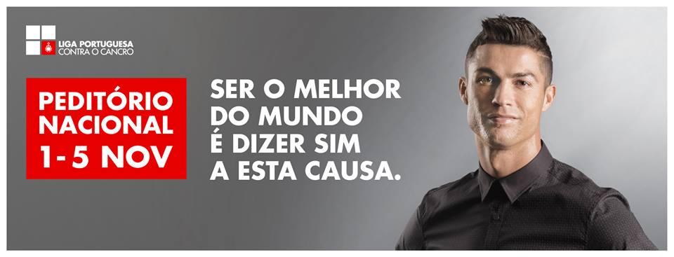 Cristiano Ronaldo é a cara da LPCC