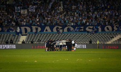 A equipa do FC Porto com os adeptos