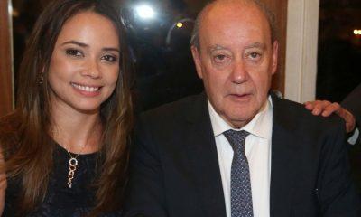 Pinto da Costa com a sua filha Joana