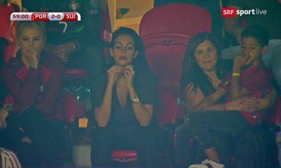 Georgina Rodriguez assiste à partida com Katia e Dolores Aveiro