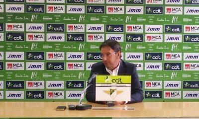 Manuel Machado em conferência de imprensa