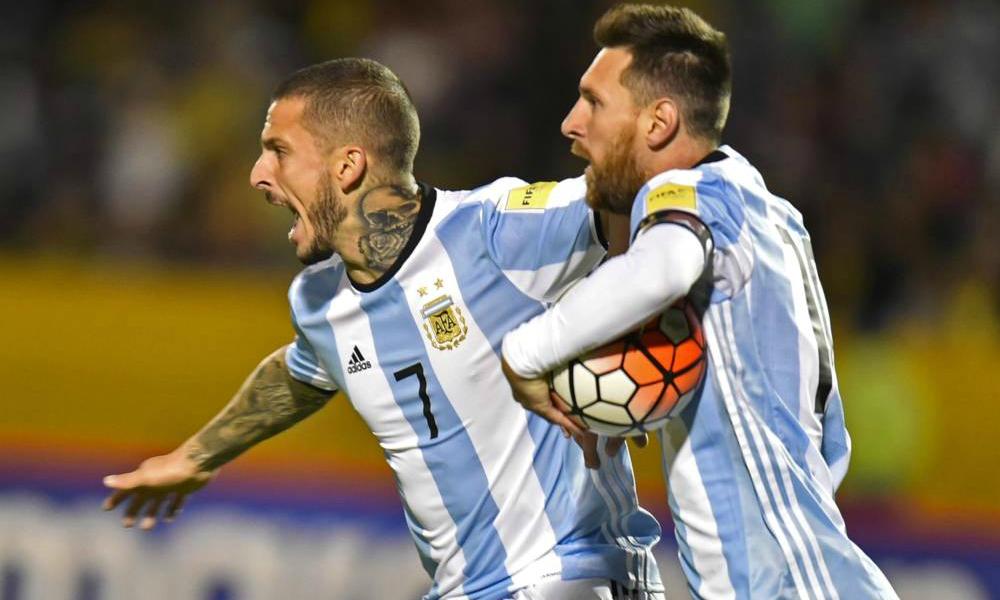 Lionel Messi leva Argentina ao Mundial