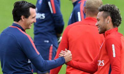 Emery e Neymar