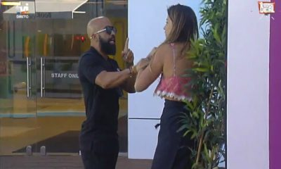Momento em que Nilton Bala agride Isabel Figueira no The Biggest Deal