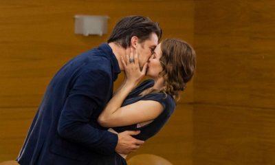 Jorge e Bia casam-se no final de Ouro Verde