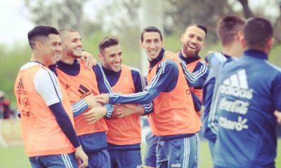 Salvio na seleção argentina