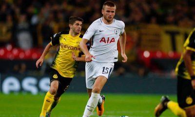 Eric Dier em ação no Tottenham
