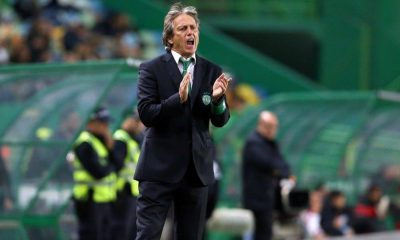 Jorge Jesus no comando técnico do Sporting