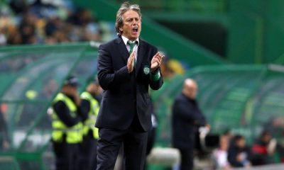 Jorge Jesus no comando técnico do Sporting