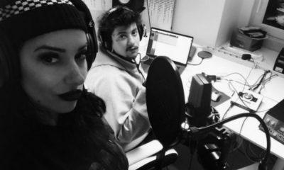Agir e Ana Malhoa no estúdio
