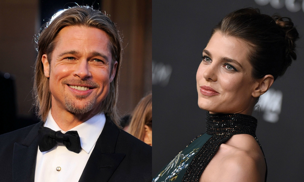 Brad Pitt e Charlotte Casiraghi