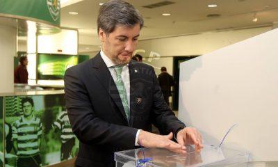 Bruno de Carvalho nas eleições do Sporting
