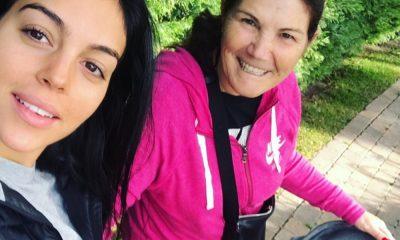 Georgina Rodriguez e Dolores Aveiro