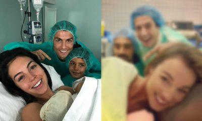 Atores da TVI fazem paródia da foto de Ronaldo na maternidade.