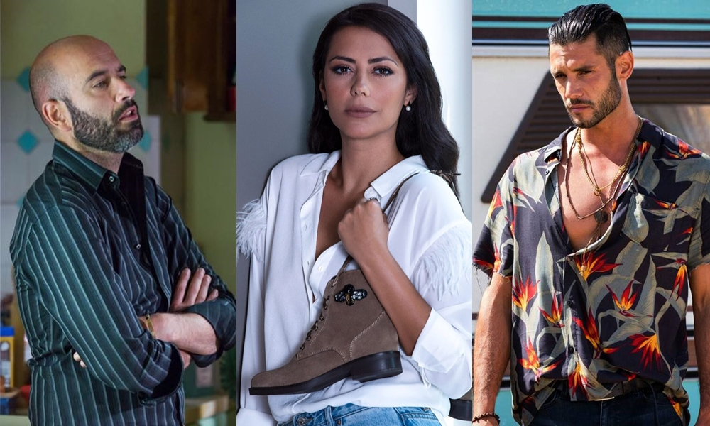Pedro Barroso, Sofia Ribeiro e Joaquim Horta, atores da TVI.