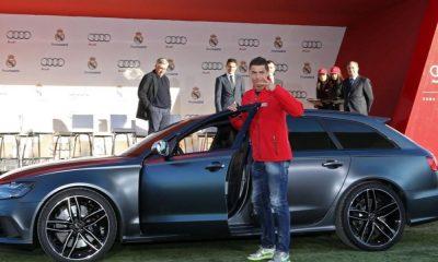 Cristiano Ronaldo também recebeu um Audi no Natal de 2014