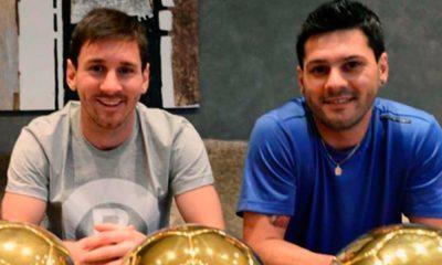 Lionel Messi e Matías Messi