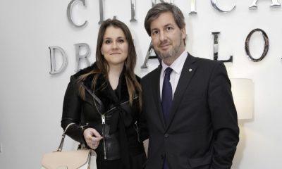 Cláudia Dias Gomes e Bruno de Carvalho quando ainda eram um casal
