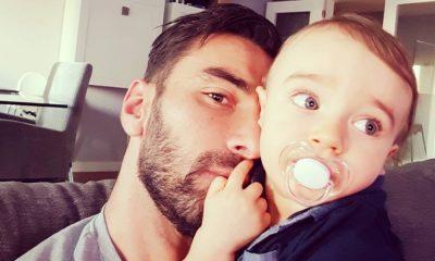 Rui Patrício com o filho