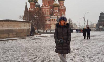 Cristina Ferreira em Moscovo