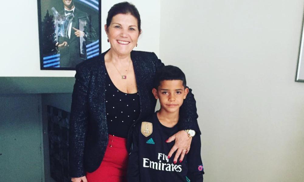 Dolores Aveiro com Cristianinho