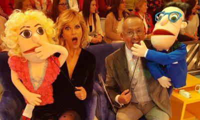 Cristina Ferreira e Manuel Luís Goucha no 'Você na TV'