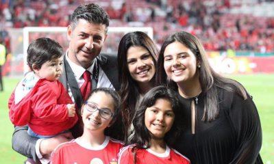 Rui Vitória com a família