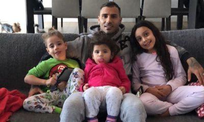 Ricardo Quaresma com os filhos
