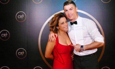 Cristiano Ronaldo com Rita Ferro Rodrigues