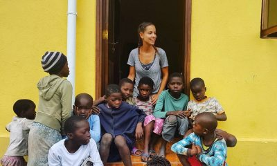 Mariana Monteiro em África
