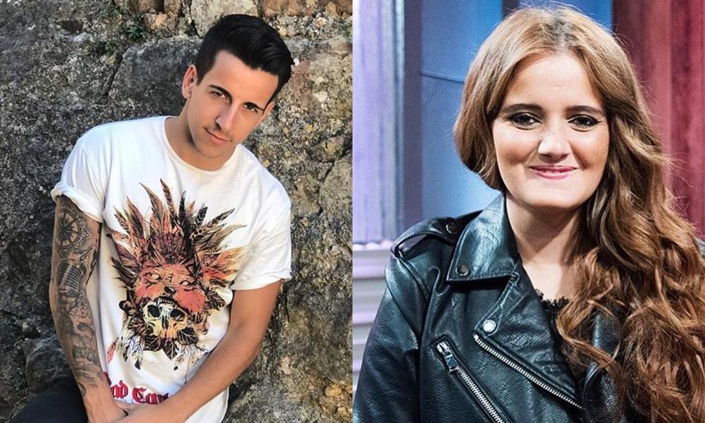 Fernando Daniel e Carolina Deslandes