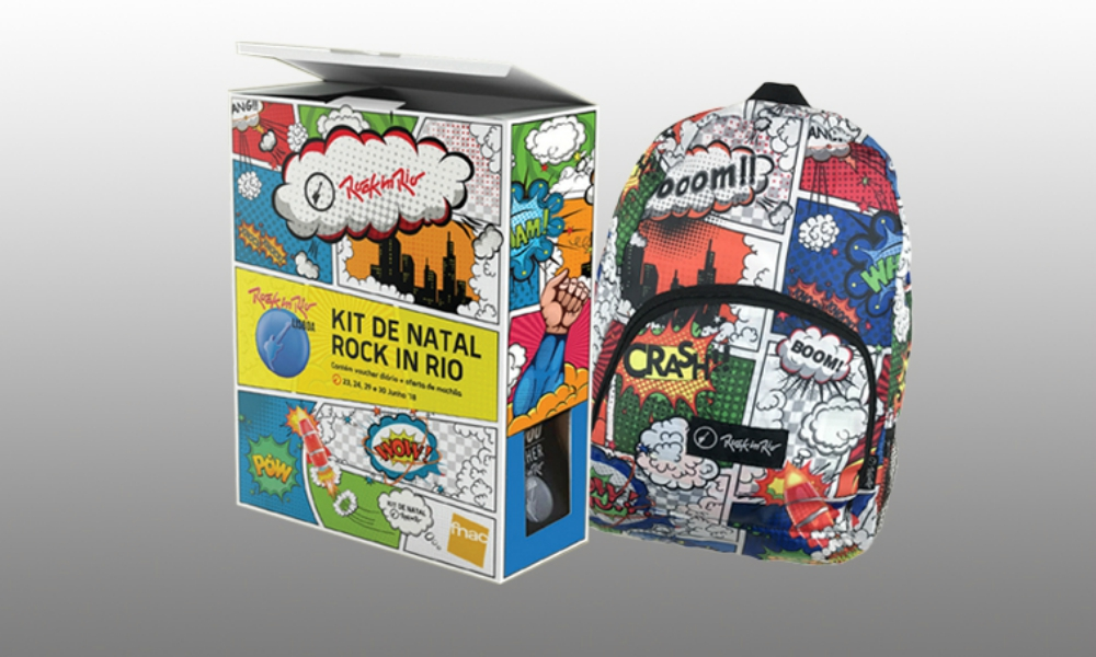 Kit de Natal Rock in Rio Lisboa 2018