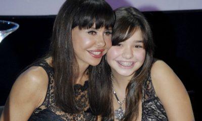 Manuela Moura Guedes com a filha Madalena Guedes Moniz