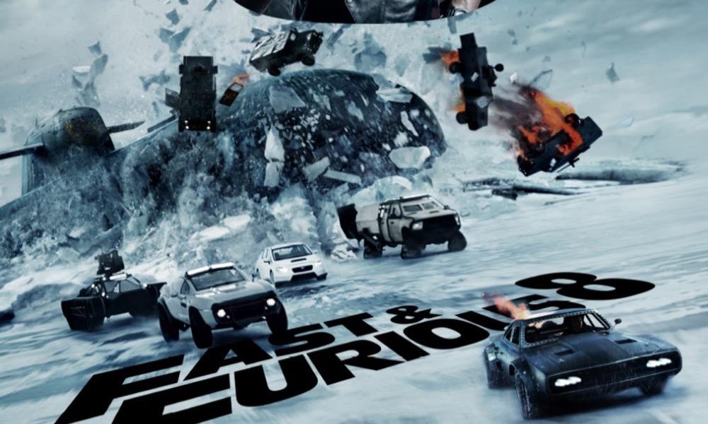 Velocidade Furiosa 8 foi o filme mais visto em Portugal em 2017