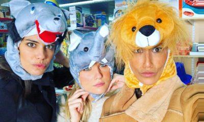Rita Pereira com Kelly Bailey e Isabela Valadeiro
