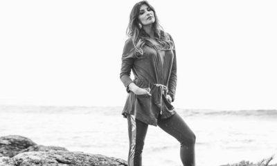 Isabel Figueira em fotografias de uma nova campanha