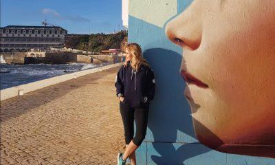 Cristina Ferreira na Ericeira