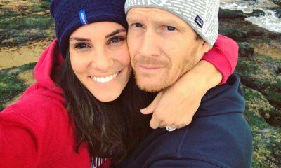 Daniela Ruah e o marido