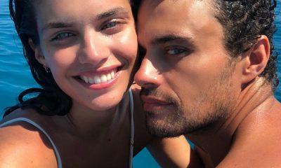 Sara Sampaio e Oliver Ripley