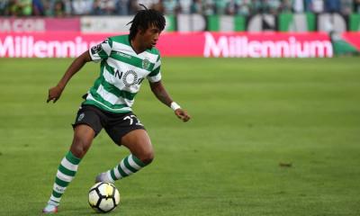 Gelson Martins em ação pelo Sporting