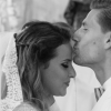 Adrien Silva e Margarida Neuparth no dia do casamento