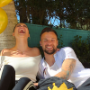 Seferovic festejou o aniversário ao lado da namorada
